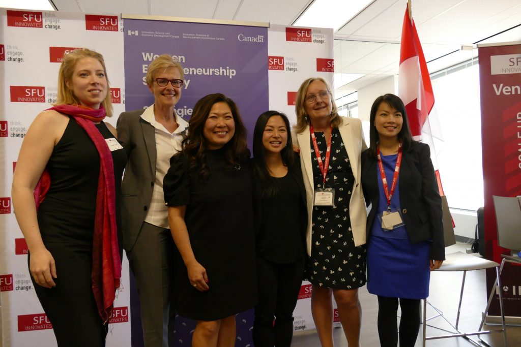 SFU Innovates and SFU VentureLabs at WEKH