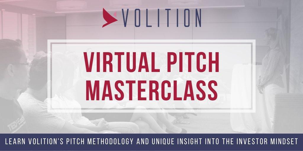 Virtual Pitch Masterclass | Jan 15