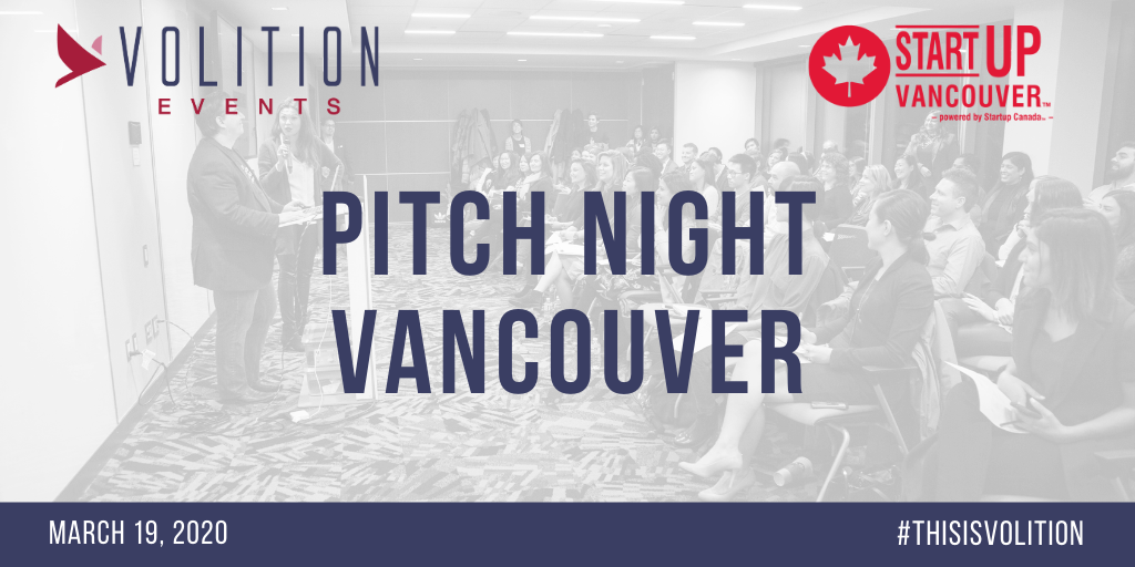 Pitch Night Vancouver   March 19