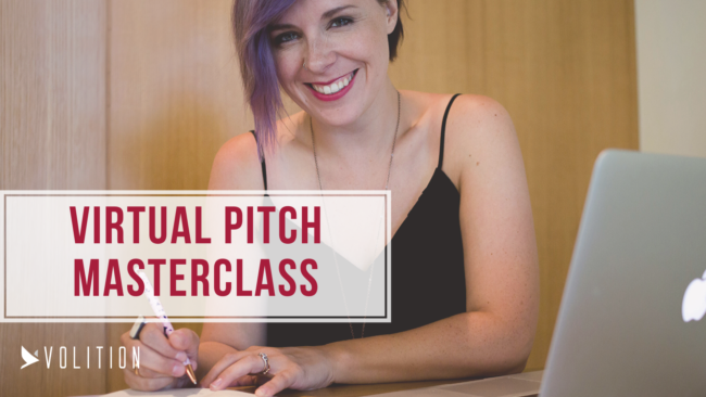 Virtual Pitch Masterclass (zoom)