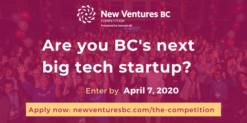New Ventures BC Competition 2020