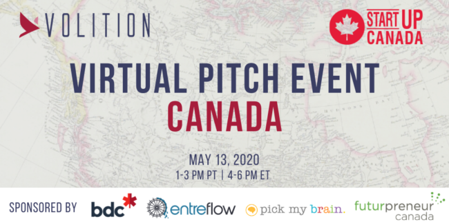 Virtual Pitch Event Canada | May 13