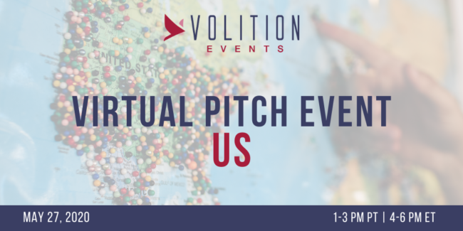 Virtual Pitch Event US | May 27