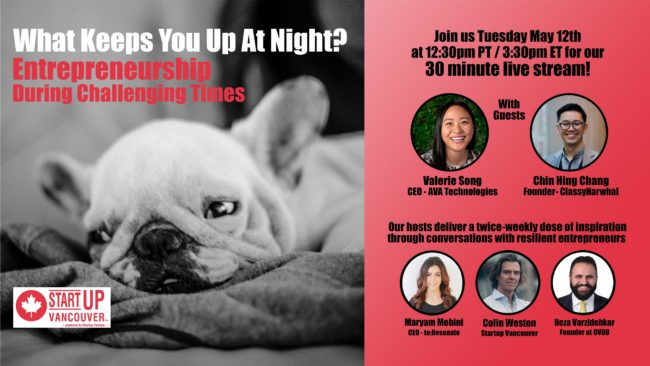 What Keeps You Up At Night? Entrepreneurship During Challenging Times