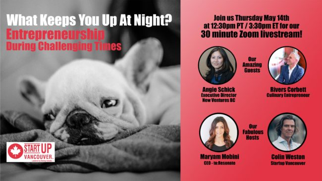 What Keeps You Up At Night? Entrepreneurship During Challenging Times Ep002