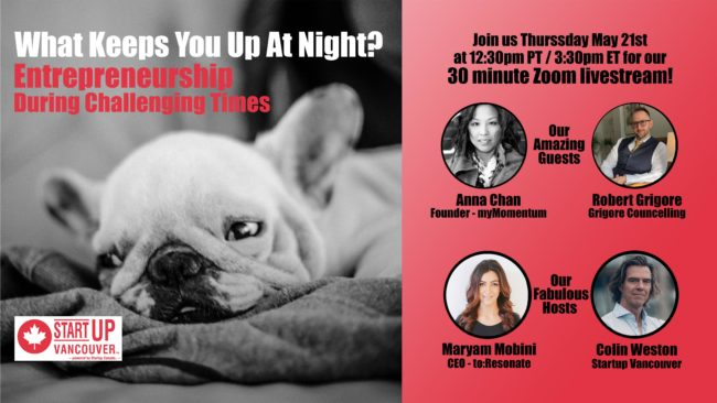 What Keeps You Up At Night? Entrepreneurship During Challenging Times Ep004