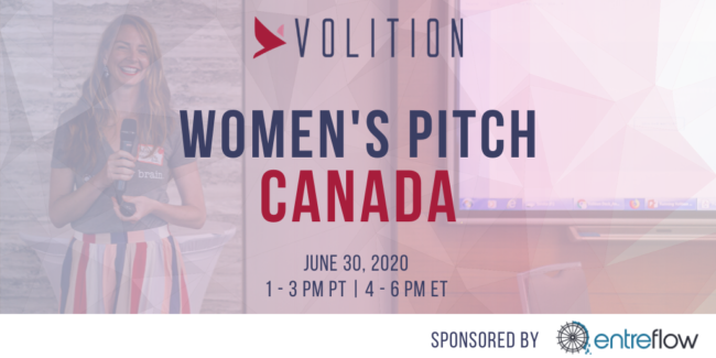 Women's Pitch Canada (virtual) | June 30