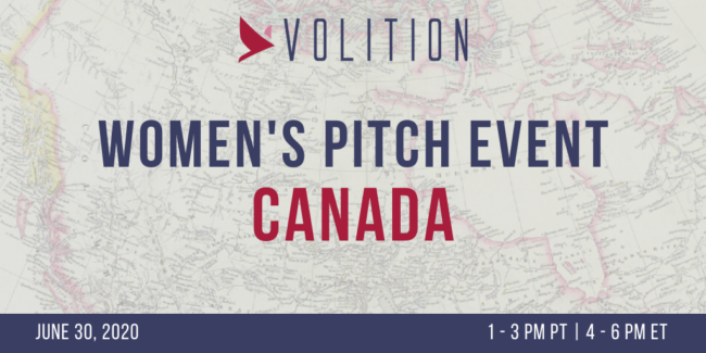 Women's Pitch Event Canada (virtual) | June 30