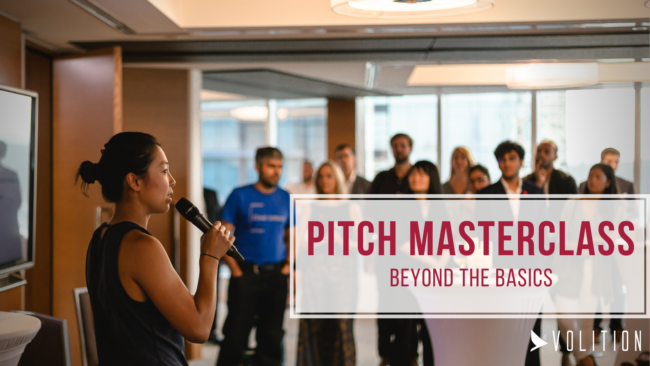 Pitch Masterclass Intensive: Beyond the Basics (virtual)