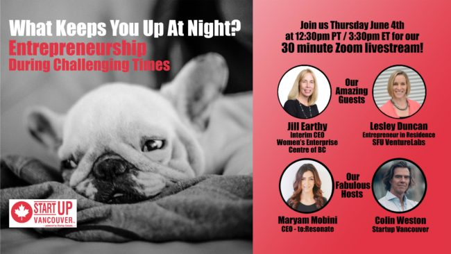 What Keeps You Up At Night? Entrepreneurship During Challenging Times Ep008
