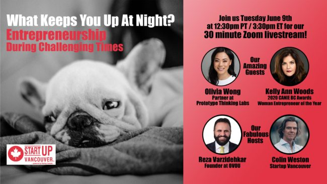 What Keeps You Up At Night? Entrepreneurship During Challenging Times Ep009