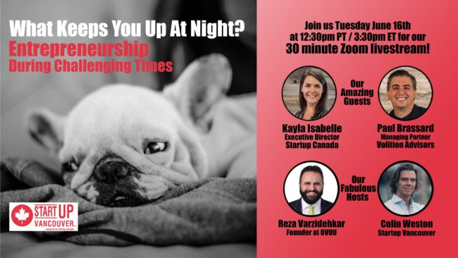 What Keeps You Up At Night? Entrepreneurship During Challenging Times Ep011