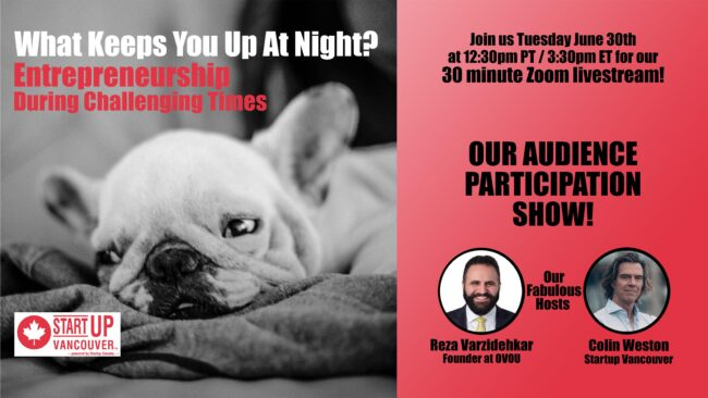 What Keeps You Up At Night? Entrepreneurship During Challenging Times Ep015