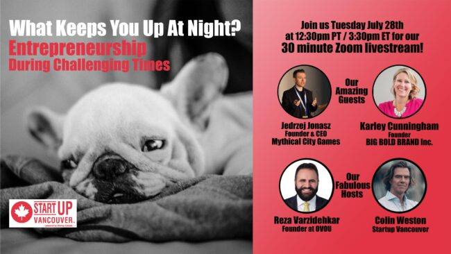 What Keeps You Up At Night? Entrepreneurship During Challenging Times Ep021