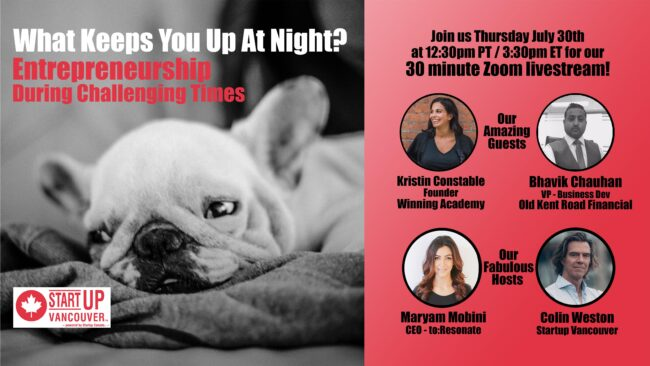 What Keeps You Up At Night? Entrepreneurship During Challenging Times Ep022