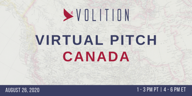 Pitch Canada (virtual) | August 26