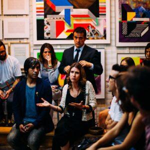 people meeting