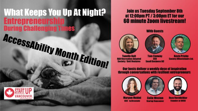 What Keeps You Up At Night? Entrepreneurship During Challenging Times Ep025