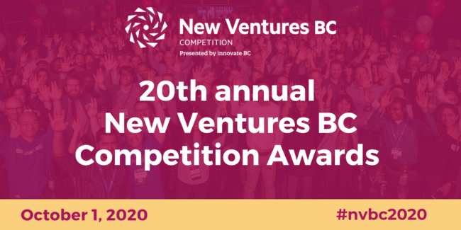 20th Annual New Ventures BC Competition Awards