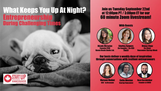 What Keeps You Up At Night? Entrepreneurship During Challenging Times Ep027