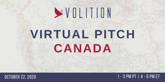 Pitch Canada (virtual) | October 22