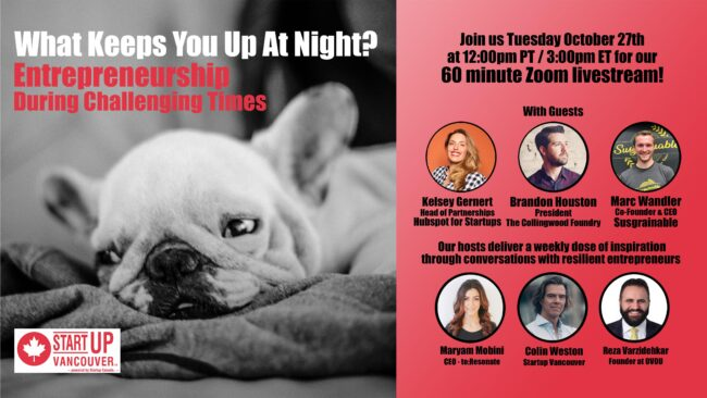 What Keeps You Up At Night? Entrepreneurship During Challenging Times Ep032
