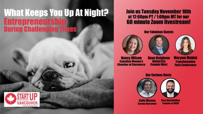 What Keeps You Up At Night? Entrepreneurship During Challenging Times Ep034