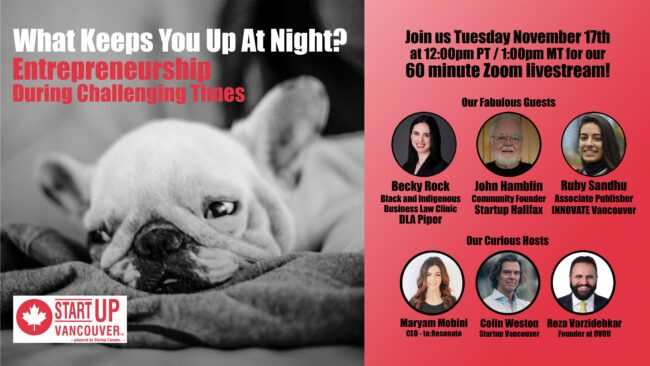 What Keeps You Up At Night? Entrepreneurship During Challenging Times Ep035