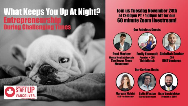 What Keeps You Up At Night? Entrepreneurship During Challenging Times Ep036