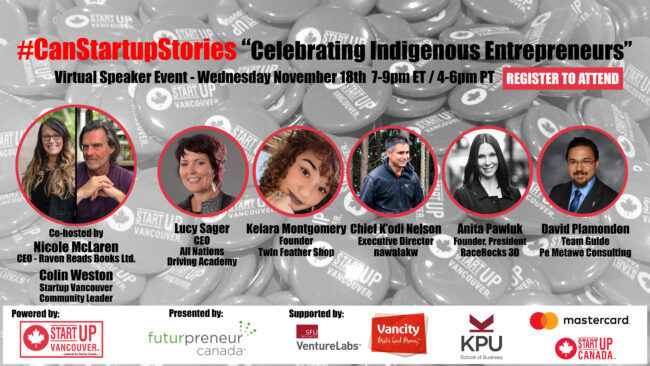 CSS Celebrating Indigenous Entrepreneurs promo