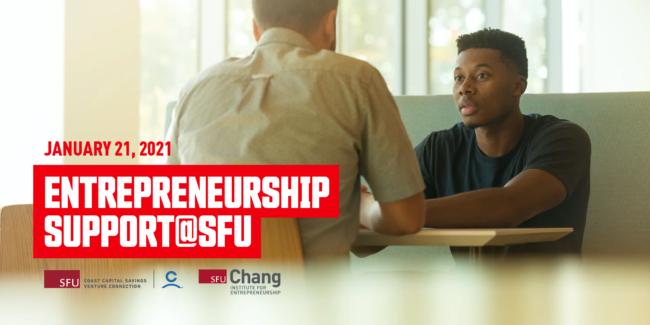 Entrepreneurship support@SFU