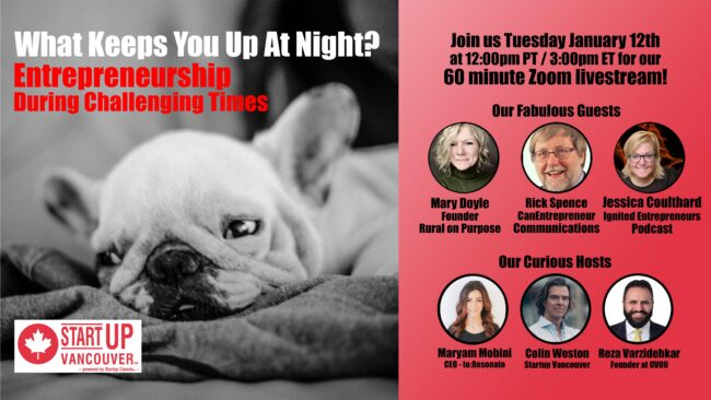 What Keeps You Up At Night? Entrepreneurship During Challenging Times Ep040