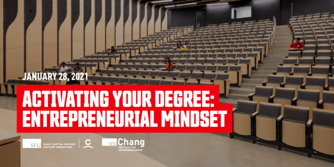 Activating Your Degree: Entrepreneurial Mindset