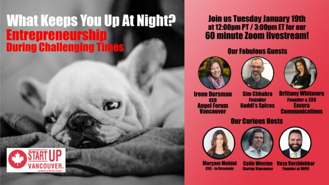 What Keeps You Up At Night? Entrepreneurship During Challenging Times Ep041