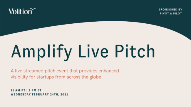 Amplify Live Pitch | February 24th