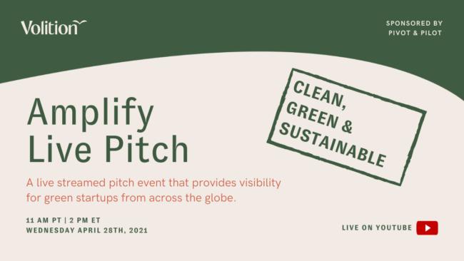 Amplify Live Pitch | April 28th