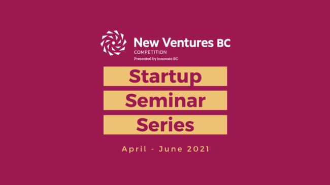 Startup Seminar Series