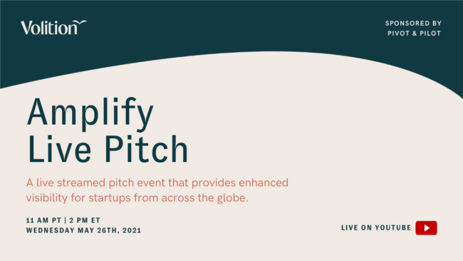 Amplify Live Pitch | May 26th
