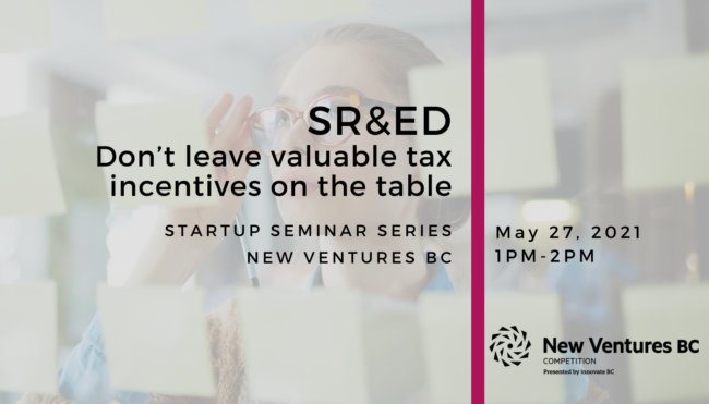 SR&ED - don't leave valuable tax incentives on the table