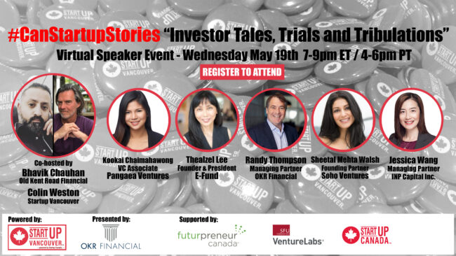 CSS Investor Tales promo with event date