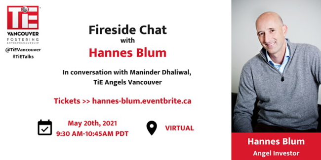 Fireside chat with Hannes Blum Banner