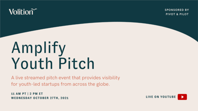 Amplify Youth Pitch | October 27th