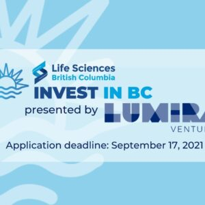 Invest in BC Event Poster