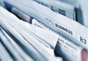 company in newspaper