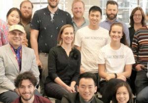 Group Shot of RocketBuilders 2019 Companies in SFU VentureLabs office