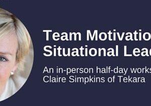 team motivation leadership